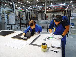 Стол контроля качества продукции