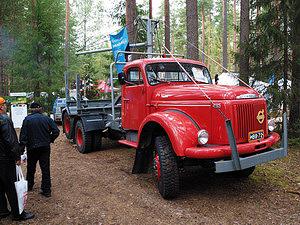 Лесовоз Volvo 1964 года производства