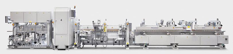 Рис. 8. Линия UKP20 для шлифования погонажных изделий (производитель – компания Heesemann, Германия)