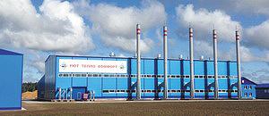 Коммунальная котельная Устьянской теплоэнергетической компании