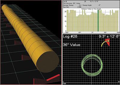 Рис. 1. Система оптимизации пиловочных бревен, установленная перед головным оборудованием лесопильного цеха