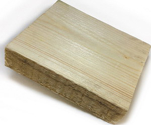 Рис. 6. Образец доски толщиной 16 мм и шириной 100 мм