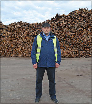 Алексей Худашов, начальник производства ООО «Устьянский лесопромышленный комплекс»
