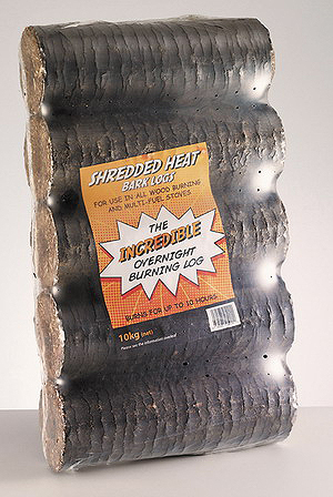 Рис. 10. Брикеты из коры, полученные на прессе RUF (вверху) и ударно-механическом прессе (внизу)