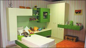 Набор мебели для детской производства ФМ «Стадис»