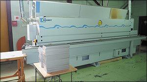 Кромкооблицовочный станок проходного типа Brandt KTD 720 Optimat (Германия)