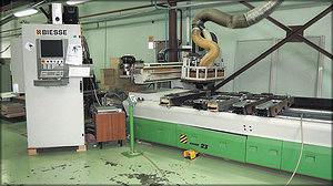 Фрезерно-присадочный обрабатывающий центр с ЧПУ Biesse Rover 23 (Италия)