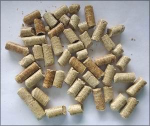 Пеллеты из камыша. Казахстан