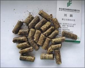 Пеллеты из соломы. Китай