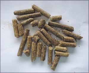 Пеллеты из сена. Италия