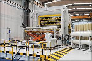 Прессовое оборудование для производства фанеры, производства Biele