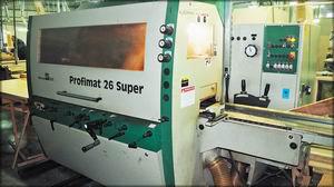 Четырехсторонний станок Weinig Profimat 26 Super (Германия). Цех деревообработки