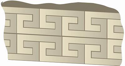 Рис. 2. Защитное ограждение: а – стена из блоков