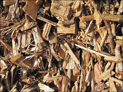 Щепа из лесосечных остатков
