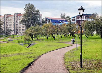Парк «Куракина дача» после капремонта