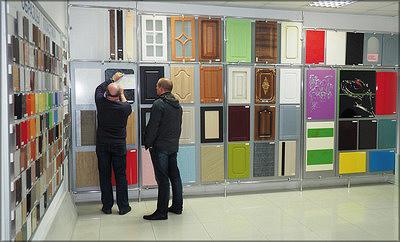 Образцы фасадов, выпускаемых на фабрике