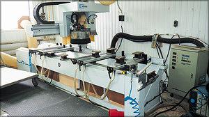 Обрабатывающий центр с ЧПУ Weeke Optimat BHC 250 (производитель – Homag Group, Германия)