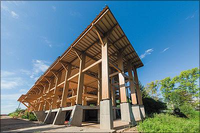 Использование древесины пристроительстве дома наносит значительно меньше вреда здоровью человека и окружающей среде, чем сооружения из кирпича и бетона