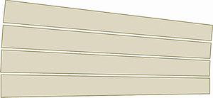 Рис. 6. Изменение степени очистки от коры сортимента 2 в зависимости от диаметра D2