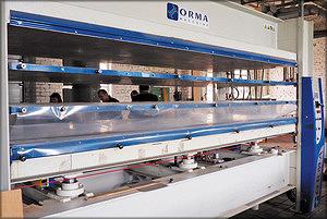 Пресс горячего прессования Orma (Италия)