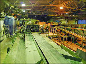 Лесопильный цех на базе оборудования EWD, USNR и Linck