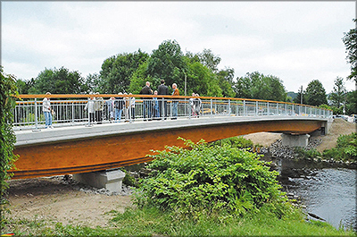 Рис. 15. Автодорожный мост в г. Ломар