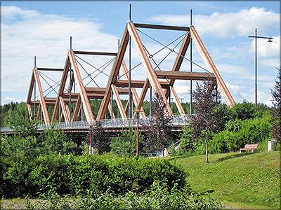 Рис. 8. Мост Вихантасалми
