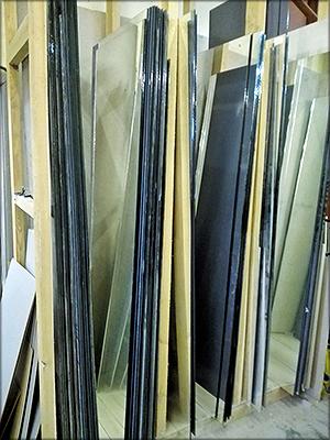 Хранение стекол