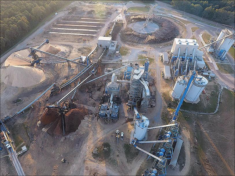 Рис. 7. Завод Drax Biomass в Луизиане