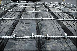 Рис. 2. Маты из вулканизированной резины Fortecta Finland Ltd