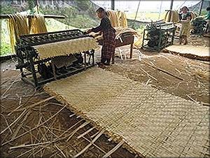 5 – плетение матов;