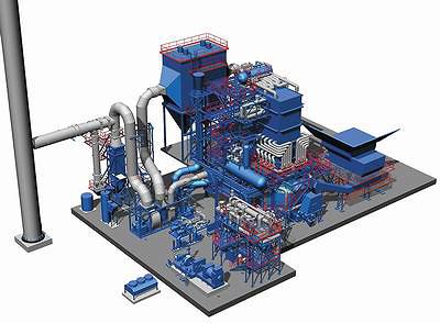 Установки Wartsila BioPower являются высокомодульными, основанными на использовании стандартизированных компонентов с высоким уровнем надежности