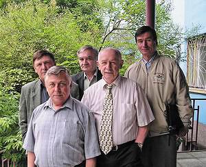 Коллектив Байкальской лесной биржи в своем неполном составе