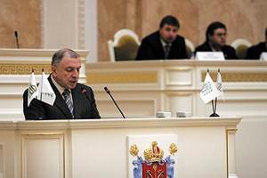 Клебанов И. И., полномочный представитель Президента Российской Федерации в Северо-Западном федеральном округе