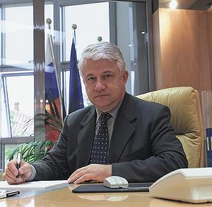 Президент административного совета Koimpex S.r.l. г-н Воймир Коцман
