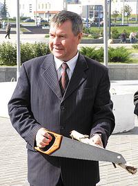 Министр лесного хозяйства Республики Беларусь Петр Семашко