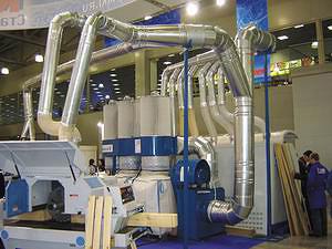 Фильтроциклон производительностью 12 000 куб м в час