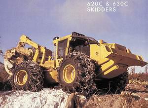 Скиддер Tigercat