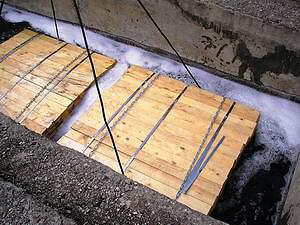 Антисептирование в бетонной ванне с антисептиком «СЕНЕЖ ЕВРОТРАНС»