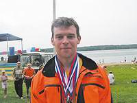 Победитель соревнований Александр Суровцев