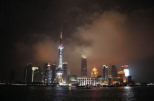Символ Шанхая – телевизионная башня «Жемчужина Востока» (год постройки 1994, высота 468 м, вес более 120 тысяч тонн)