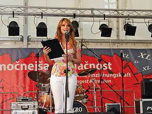 Певица и ведущая Наталия Ферботен