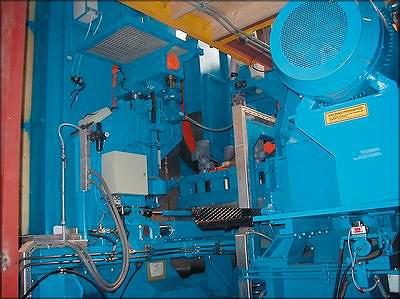 Сдвоенный фрезерно-ленточнопильный агрегат