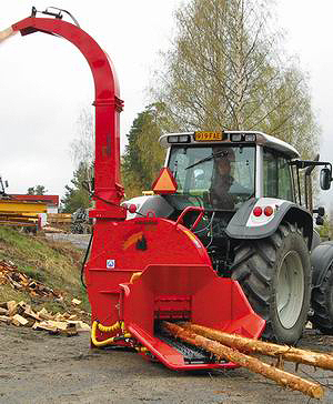 Рубительная машина FARMI Forest CH 380 HF