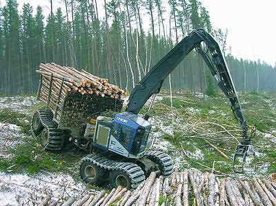 Форвардер TimberPro TF830 18-тонный