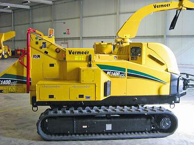 Рубительная машина на гусеничном ходу Vermeer BC1400