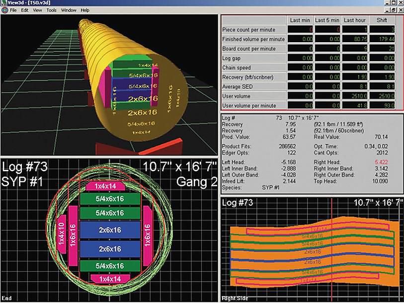 Программа обработки сигнала систем оптимизации и сканирования, с графическим отражателем получаемых данных USNR