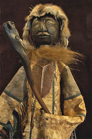Большая коллекционная кукла-шаман