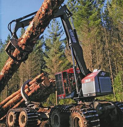 20-тонный скиддер TimberPro
