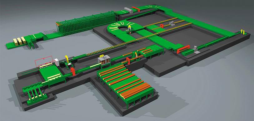 Проект лесопильного завода USNR